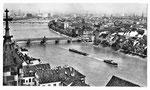 Ansichtskarte Basel. Blick vom Münster (Photo u.Verlag Hans Frey Basel)