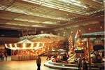 Die Herbstmesse in der altehrwürdigen Kongresshalle 8 (Basler Halle) in der auch Handballspiele ausgetragen wurden, 1978