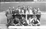 Die Mannschaft des FC Basel in Freiburg i.Br. im Jahre 1939 (2.v.links Paul Wechlin)
