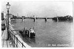 Ansichtskarte 200 Basel. Johanniterbrücke (Verlag E.Banholzer & Co Binningen)
