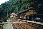 Der Bahnhof Hirschsprung an der Höllentalbahn im Jahre 1982