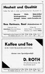 53) Rosa Hartmann Mercerie   /    D.Roth Kaffee & Tee