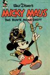 Das MICKY MAUS-Heft Nr.3 vom November 1951 (Im Besitze des Autors).