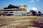Der Abbruch des Gaswerkes in Kleinhüningen im Jahre 1975