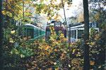 Zur Verschrottung abgestellte Be 4/4 in der Abstellanlage Eglisee, Herbst 2000