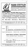 21) Radio Stettler   /  Gautschi Damen-Konfektion