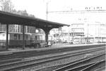 Der Bahnhof in Liestal der Waldenburger-Bahn im Jahre 1969