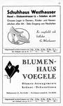 57) Schuhhaus Westhauser   /    Blumenhaus Voegele