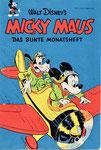 Das MICKY MAUS-Heft Nr.1 vom September 1951 (Im Besitze des Autors)