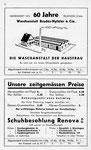 6) Waschanstalt Bruder-Niffeler & Cie  /  Schuhbesohlung Renova AG