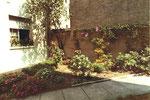 Wohnidylle im Hinterhof Bläsiring 129, 1975