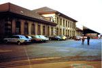 Der St.Johann-Bahnhof, wie er sich im Jahre 1983 zeigte.