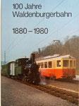 Das Büchlein «100 Jahre Waldenburgerbahn 1880-1989» (im Besitz von Paul Bachmann)