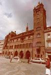 Das Rathaus vor der grossen Renovation, 1972. Die Renovation fand im Jahre 1979 statt.