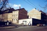 Das Restaurant Rosental an der Ecke Bleichestrasse / Mattenstrasse, 1980 (ganz rechts das Haus mit der Wohnung der Familie Maser)