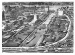 Ansichtskarte Rheinhäfen beider Basel Kleinhüningerhafen Becken II (Photo A.Jansen Zürich, Verlag Hans Frey Basel)