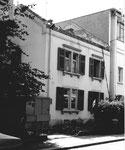Der Abbruch des Hauses der Familie Elisabeth Ess, Bläsiring 88, 1973