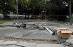 Das Planschbecken für Kinder im Horburgpark, 2018
