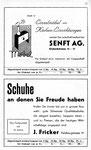 47) Senft AG Möbelhaus und J.Fricker Schuh-Fachgeschäft