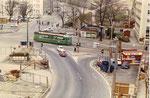 Die Heuwaage in der Anfangszeit des Viaduktbaus um 1960
