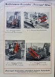 Originalprospekt des Eisenwerks Von Roll Klus für Keilriemen-Antriebe «TEXROPE» (Rückseite)