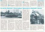 2) Informationsblatt zum Baubeginn der Nordtagente im Grossbasel, Oktober 1995