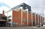 Die Musicalhalle war vorher die MUBA-Halle 7 und beherbergte (unter anderem) auch die Herbstmesse, Februar 2020