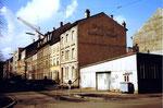 Das ehemalige Restaurant Rosental an der Ecke Bleichestrasse / Mattenstrasse um 1980