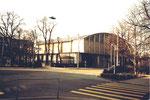 Die Kongresshalle 8(ehem. Basler-Halle) am Riehenring, 1978 (Diese Halle wurde auch für Handballspiele benutzt)