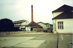 Das Areal der Basler Stückfärberei (heute lapidar Stücki genannt) 1984