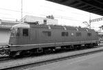 Die E-Lokomotive Re 6/6 Nr.12983 der SBB in Rheinfelden, 1998