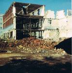 Gempp&Unold, Abbruch der Fabrikanlagen, 1981