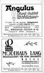13) Angulus-Schuh AG  /   Modehaus Lang