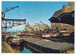 Ansichtskarte Basel. Rheinhafen (ema-card Nr.511 EMA-Handel AG Liestal)