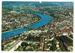 Ansichtskarte SR 660 Basel. (Flugaufnahme Swissair Photo AG- Kiosk AG Bern)