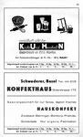 61) Kuhn Küche und Haushalt   /    Konfekthaus Schwaderer