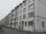 Schöne Wohnhäuser an schöner Wohnlage am Wiesenschanzweg, gegenüber des Horburgparkes, 2018