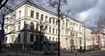 Das Bläsischulhaus von Archtekt Heinrich Reese - Baujhar 1883. Ansicht von der Müllheimerstrasse aus gesehen, Februar 2020