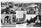 Ansichtskarte 7807 Basel. 5 verschiedene Ansichten (Photoglob Wehrli AG Zürich)