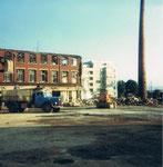 Gempp&Unold, Abbruch der Fabrikationshallen, 1981