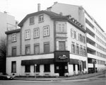 Das ehemalige Restaurant Sperreck, Ecke Sperrstrasse/Claragraben, 1974