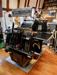 Der «OHT» - die legendäre Tiegeldruckpresse der Heidelberger Druckmaschinen AG im Papiermühle-Museum Basel