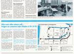 4) Informationsblatt zum Baubeginn der Nordtagente im Grossbasel, Oktober 1995