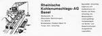 Inserat der «Rheinischen Kohlenumschlags AG» in der Zeitschrift «Strom und See» 1964