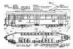Tram-Motorwagen Be 4/4 Serie 457-476 (Zeichnung BVB)