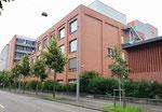 Eine andere interessante Ansicht der Fabrikationsgebäude der CIBA an der Mauerstrasse, 2018