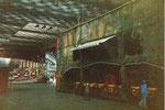 Die alte Wiener-Prater-Geisterbahn in der Kongresshalle (Basler Halle 8), 1978