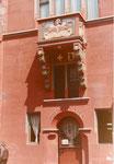 Das gab es einmal: ein Polizeiposten im Rathausturm, 1980
