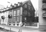 Häuserreihe an der Klingelbergstrase (diese wurden alle abgerissen) 1982