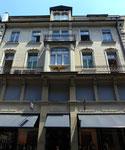 Die Fassade von von KOST-Sport an der Freien Strasse (Frontalsicht) 2014